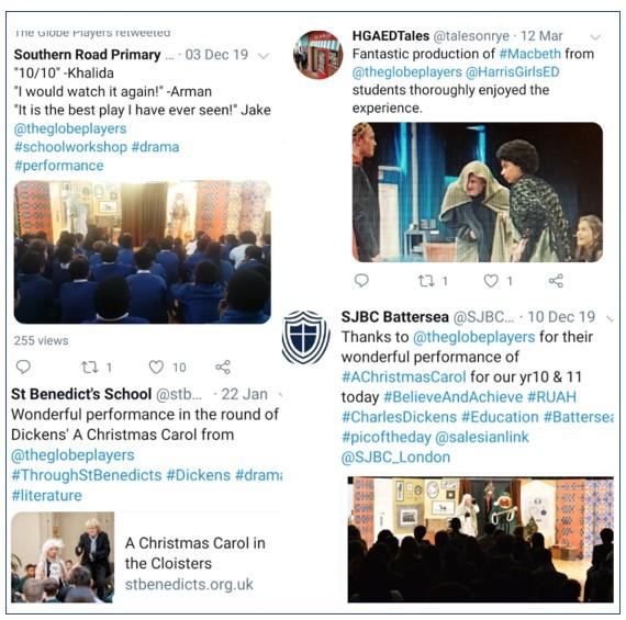 Twitter collage